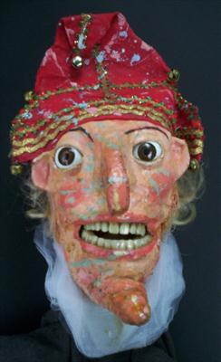 mr punch puppet