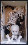 Trouble child by steve newton, Sculpture, mixed media, ceramic, plaster