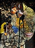 collagehead1 by steve newton, Giclee Print, direct digital print